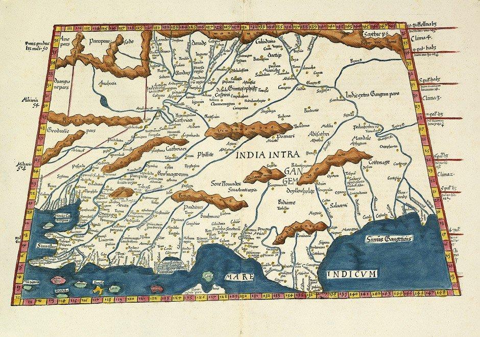 18: Indien (Ptolemäus) / Venetien (Lotter): Balearen (H