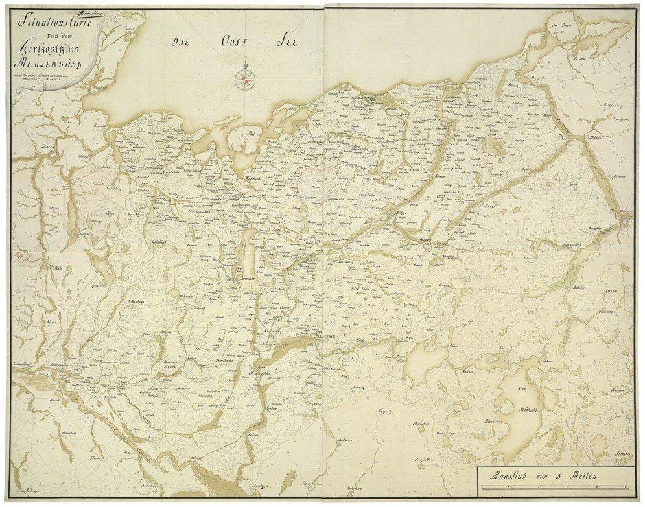 24: Mecklenburg: Situations-Karte