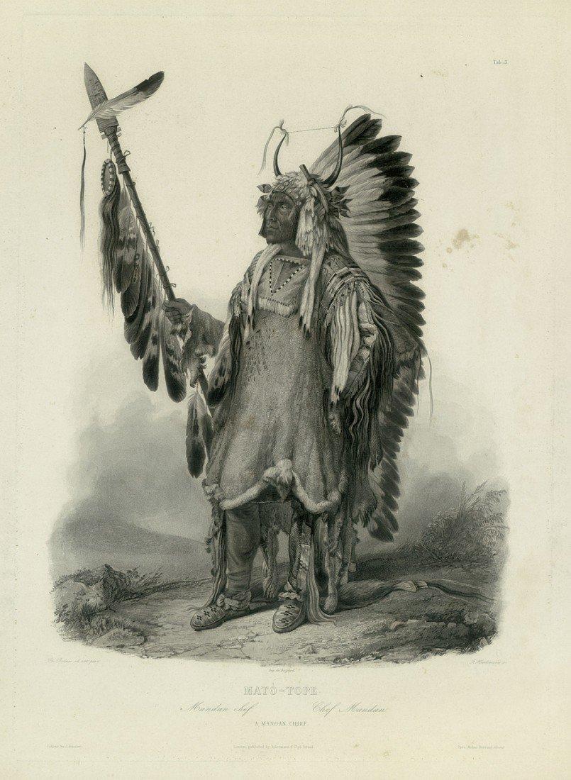 180: Matò-Tope (Indianer): Mandan chef