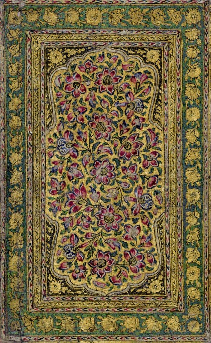 617: Koran: Koranhandschrift im Lackeinband. Um 1820