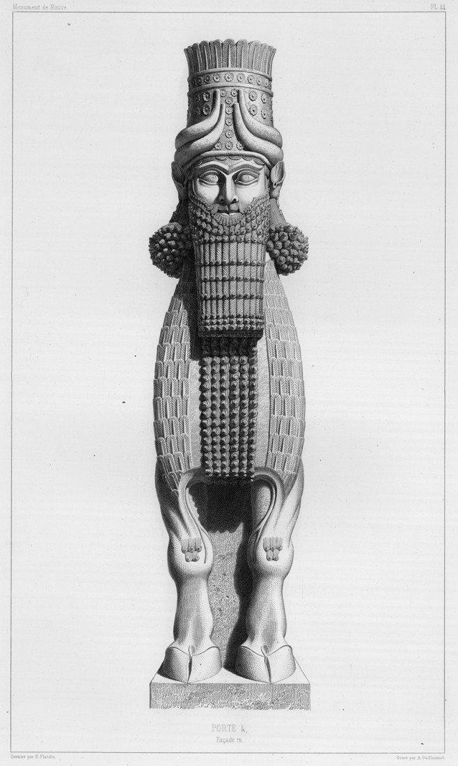 1006: Botta, Paul-Émile: Monument de Ninive