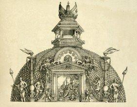 1013: Dürer, Albrecht: Arc Triomphal de l'Empereur Maxi