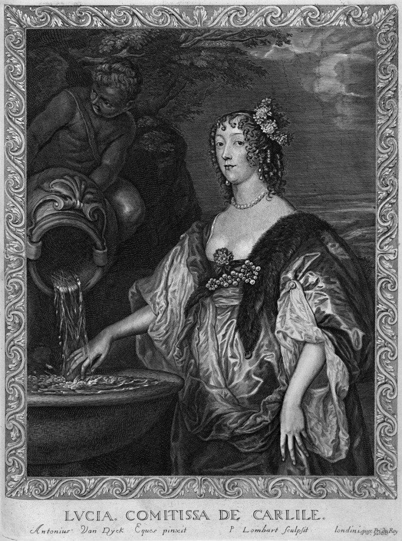 "1014: Dyck, Anton van: ""Countesses"". Folge von 12 Kupfe"