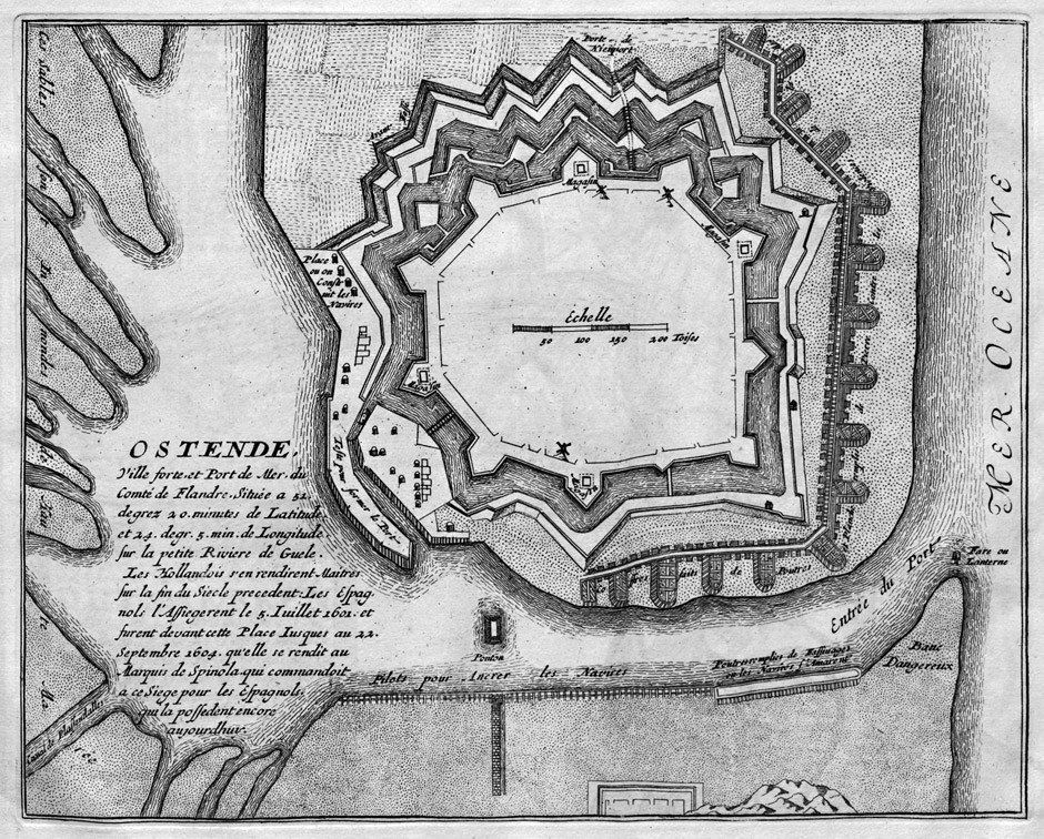 1017: Fer, Nicolas de: Le théâtre de la guerre dans les