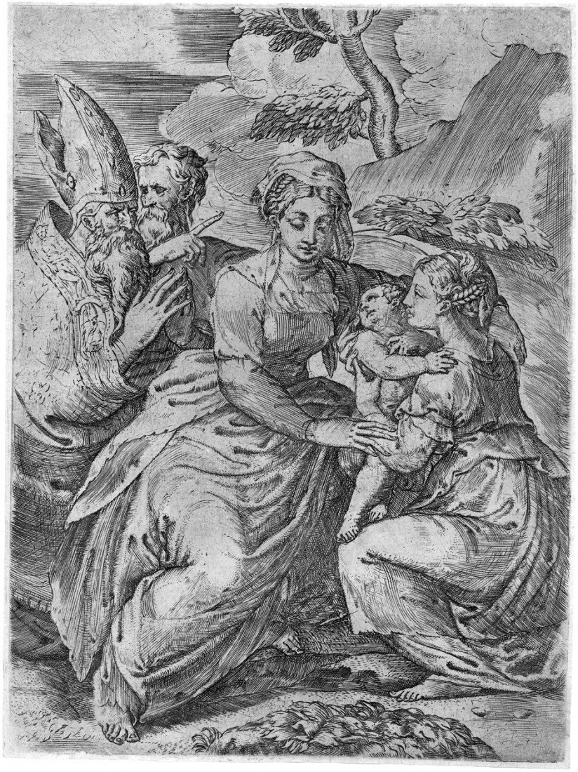 5003: Angolo, Giovanni Battista d': Madonna mit Kind