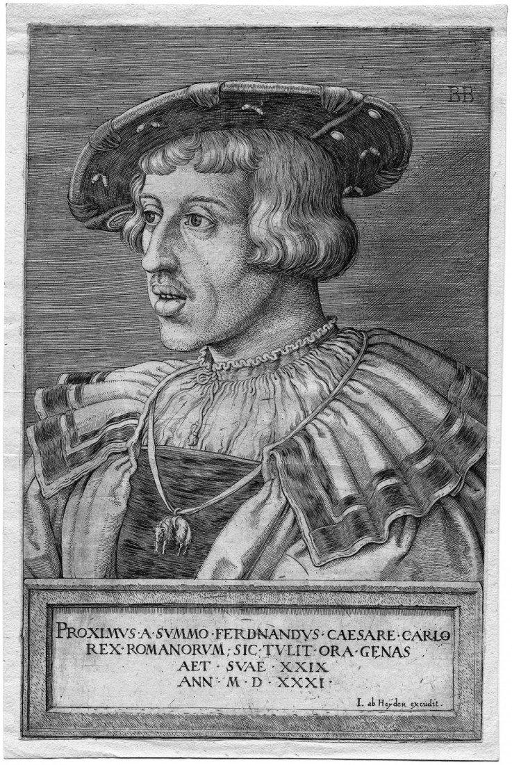 5008: Beham, Barthel: Bildnis Kaiser Ferdinand I