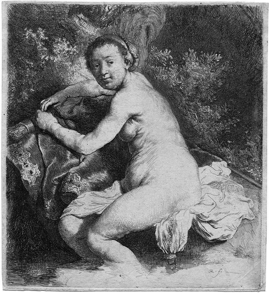 5216: Rembrandt: Diana