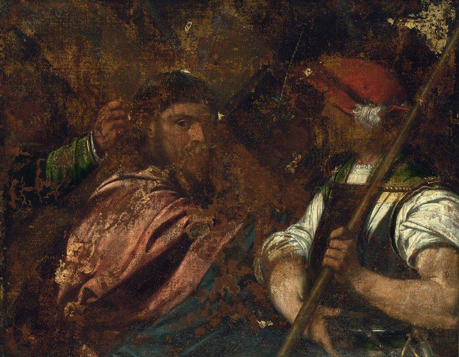 6002: Venezianisch, 16. Jh. : Die Kreuztragung Christi