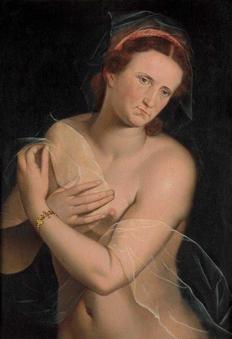 6005: Sellaer, Vincent: Bildnis einer unbekannten Dame