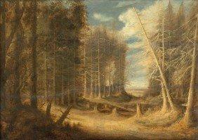 Peeters, Gillis - Umkreis: Waldlandschaft Mit Umg