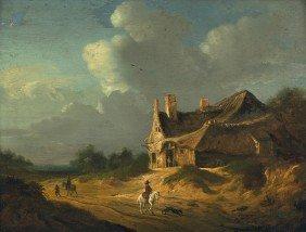 6013: Haarlemer Schule, Ende 17. Jh: Weg durch einen kl