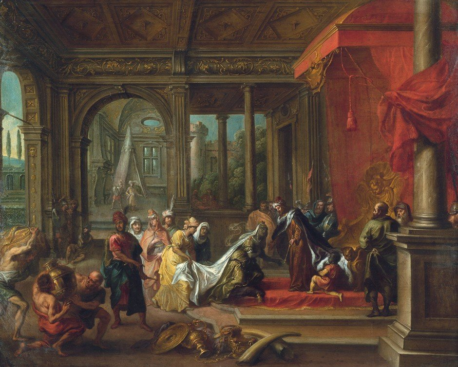 6018: Herp, Willem van - zugeschrieben: Die Königin von