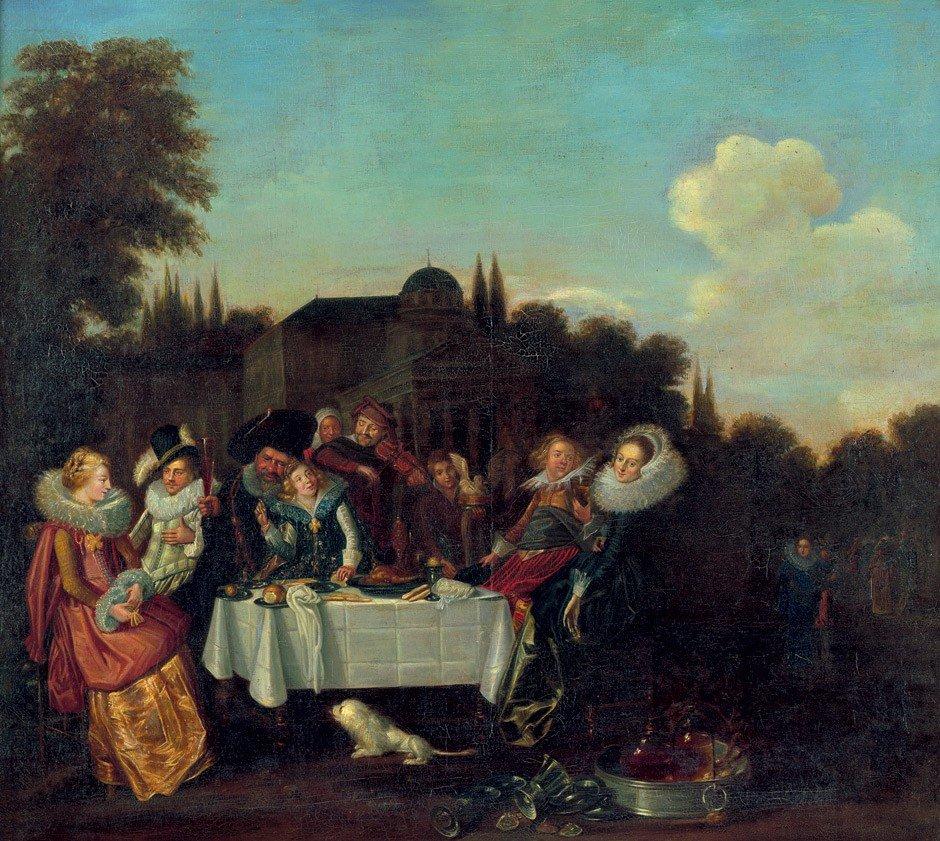 6021: Hals, Dirck - Nachfolge: Festin Champetre