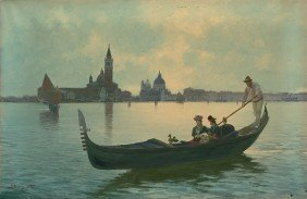 6492: Prosdocimi, Alberto: Venedig: Gondelfahrt durch d