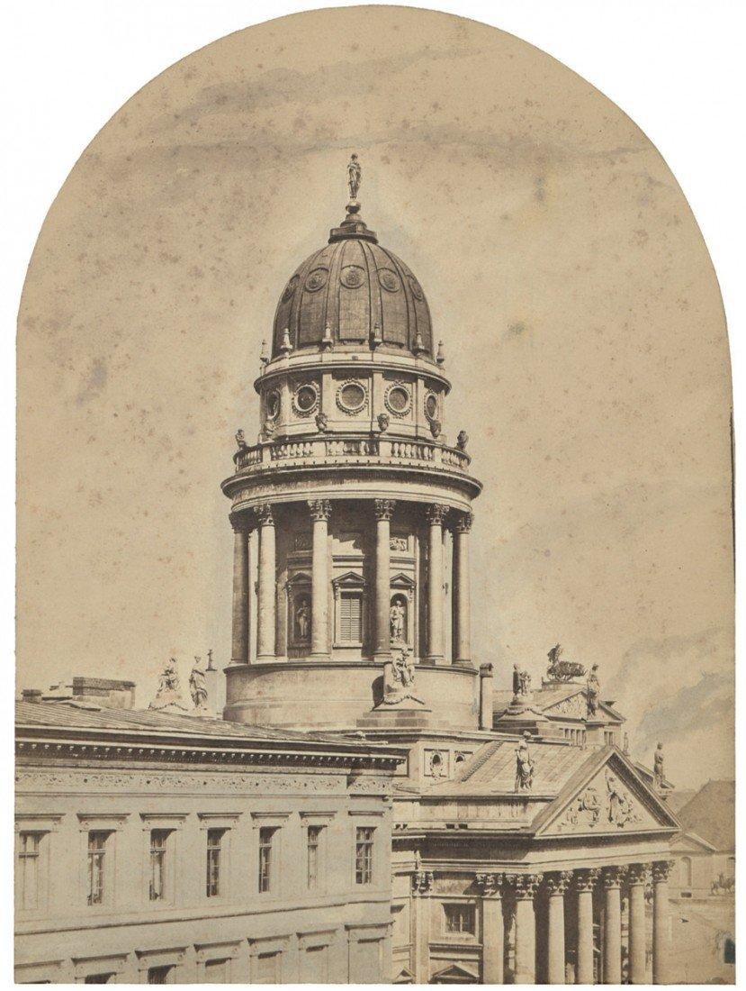 4002: Ahrendts, Leopold: Deutscher Dom, Berlin, view of