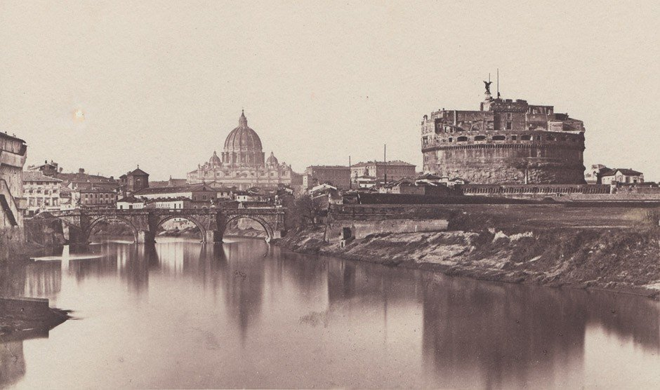 4004: Anderson, James: View of St. Peter's over the Tib