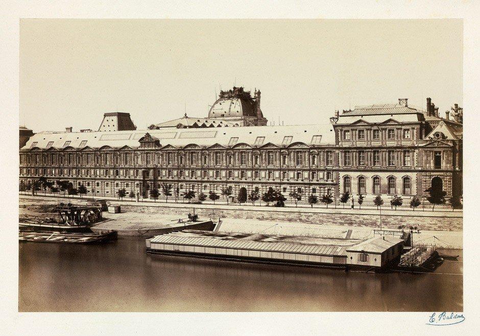4009: Baldus, Édouard-Denis: La facade Meridionale de l