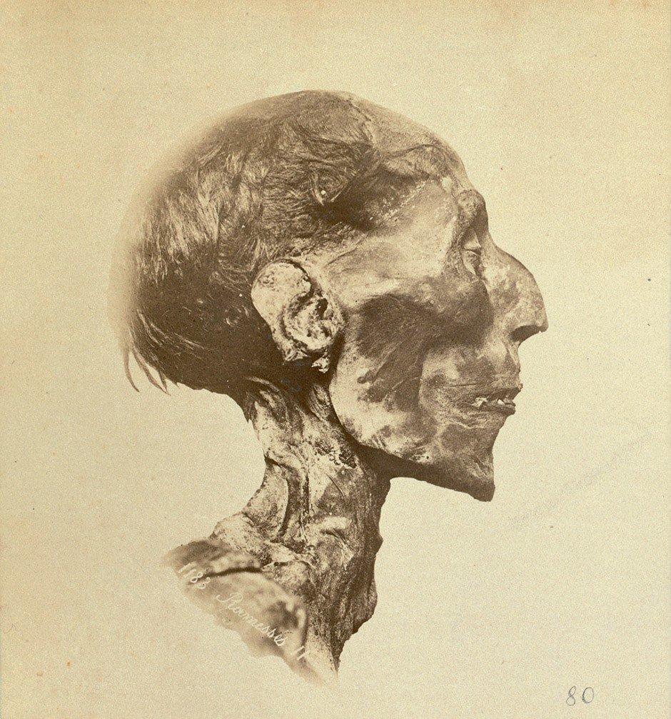 4017: Brugsch, Émile: Mummies of Ramses II, Thutmose II