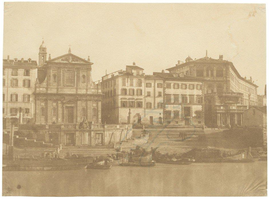 4018: Caneva, Giacomo: Harbor of Ripetta