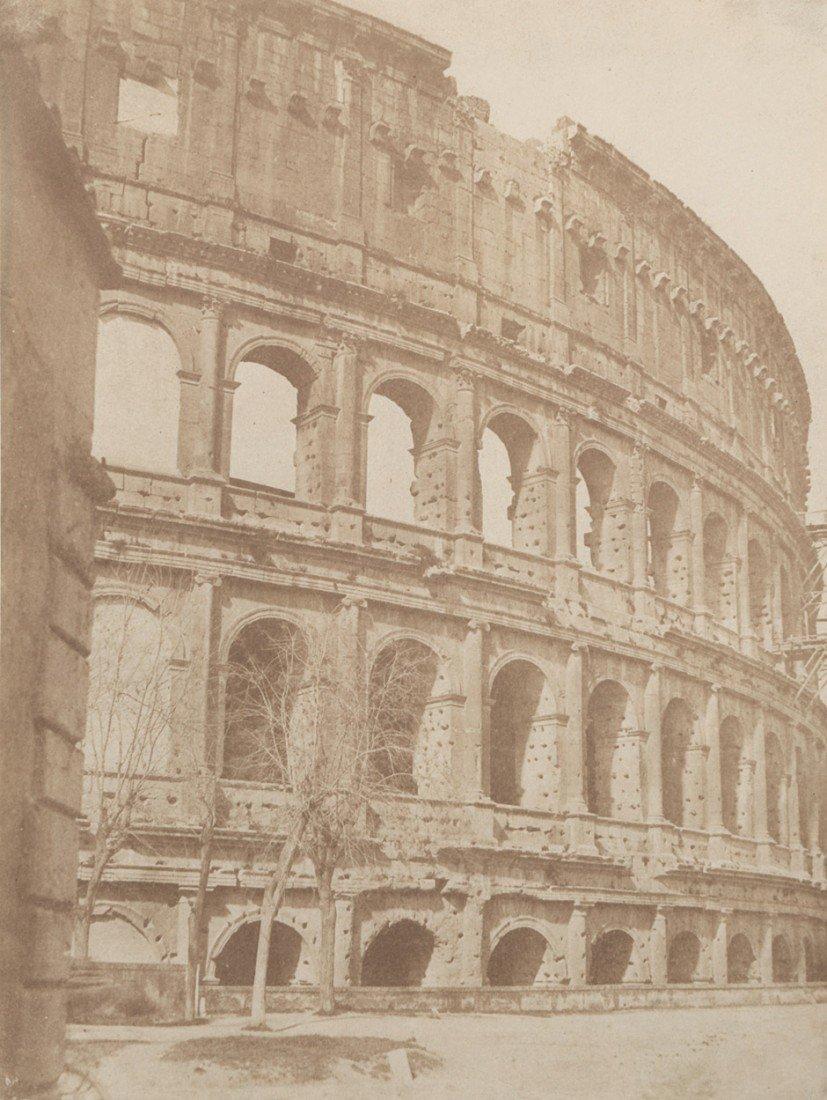 4020: Caneva, Giacomo: The Colosseum, view of the north