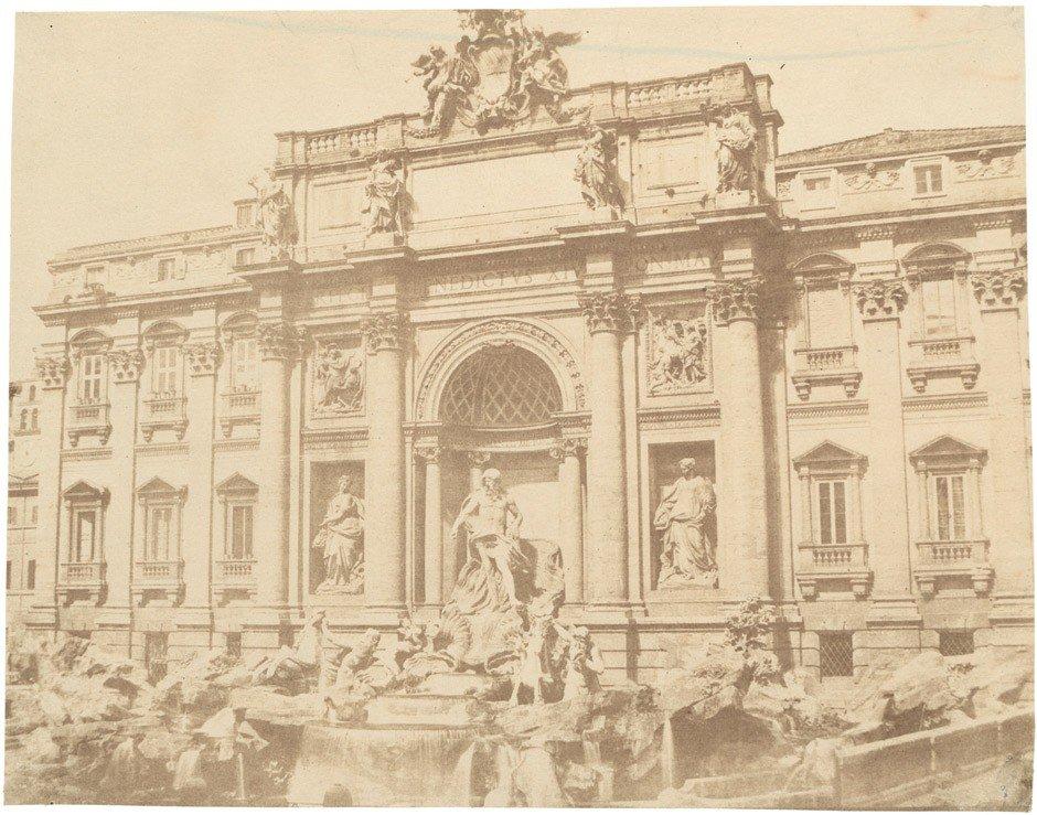 4023: Caneva, Giacomo: Trevi fountain; Temple of Mars U