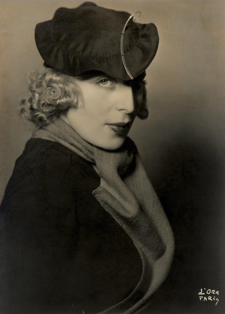 4180: D'Ora: Portrait of Tamara de Lempicka