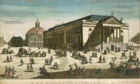 Berlin (Guckkastenbl�tter): Vue De La Salle D'Opera