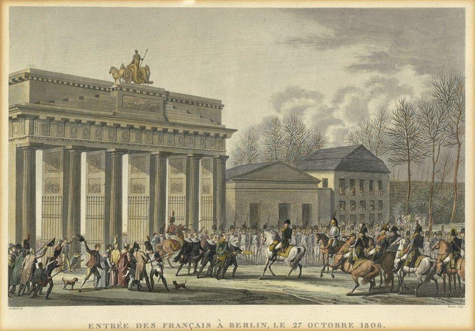 76: Berlin: Entrée des Francais ... 1806