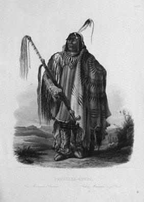 Pehriska-Ruhpa : Ein M�nnitarri-Indianer
