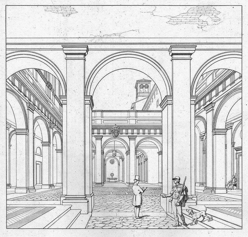 418: Letarouilly, P. : Edifices de Rome