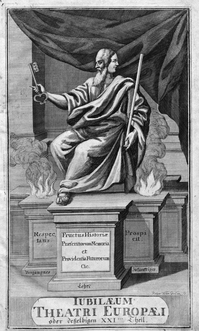 425: Merian, M.:  Jubilæum Theatri Europæi.