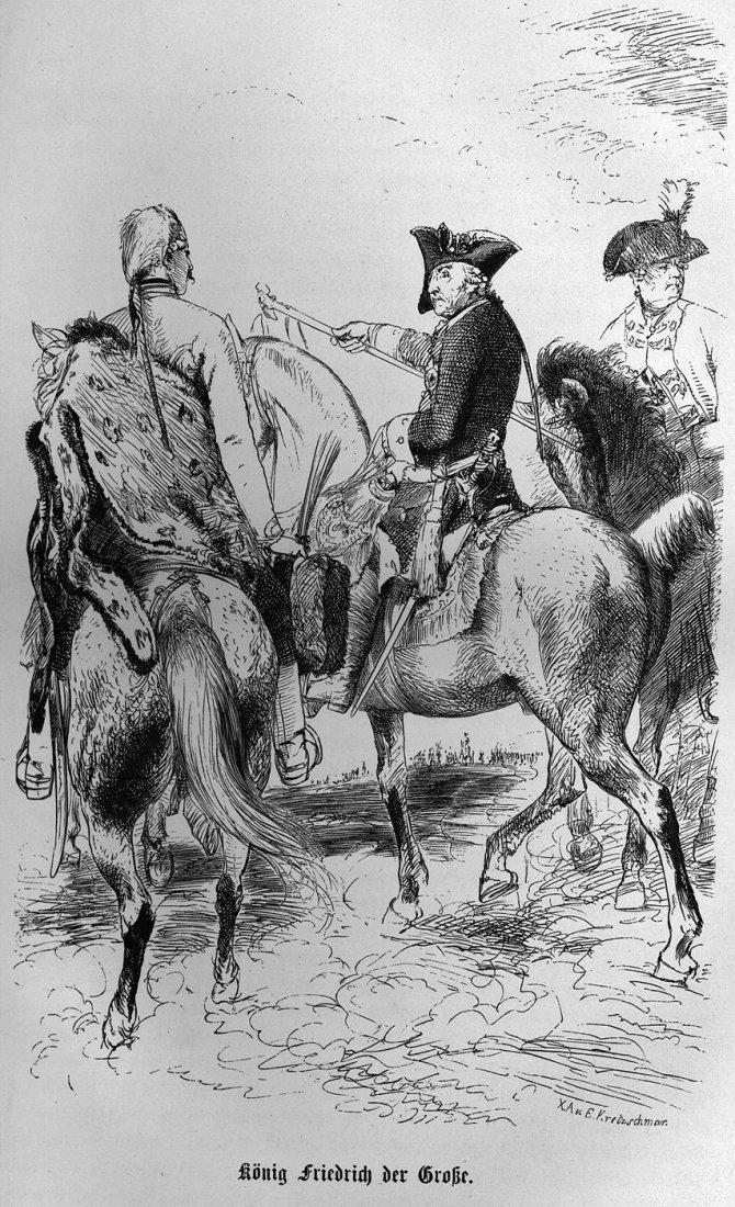 545: Lange, Eduard: Die Soldaten Friedrich's des Grosse