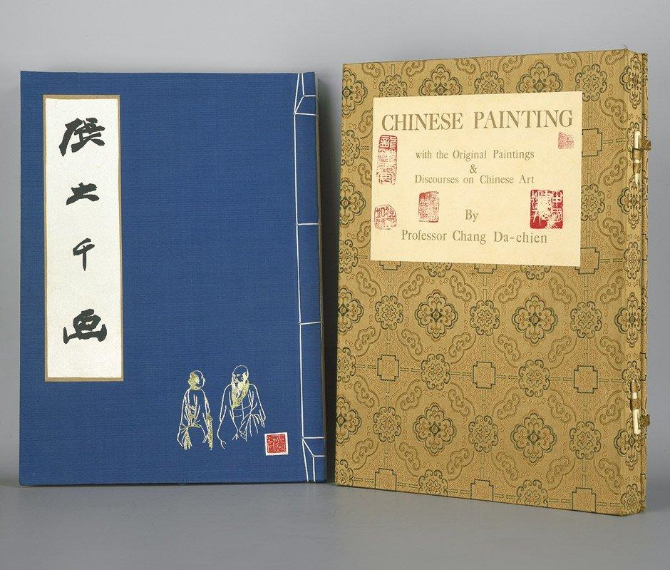 975: Chang Da-Chien: Chinese painting. Hong Kong 1961