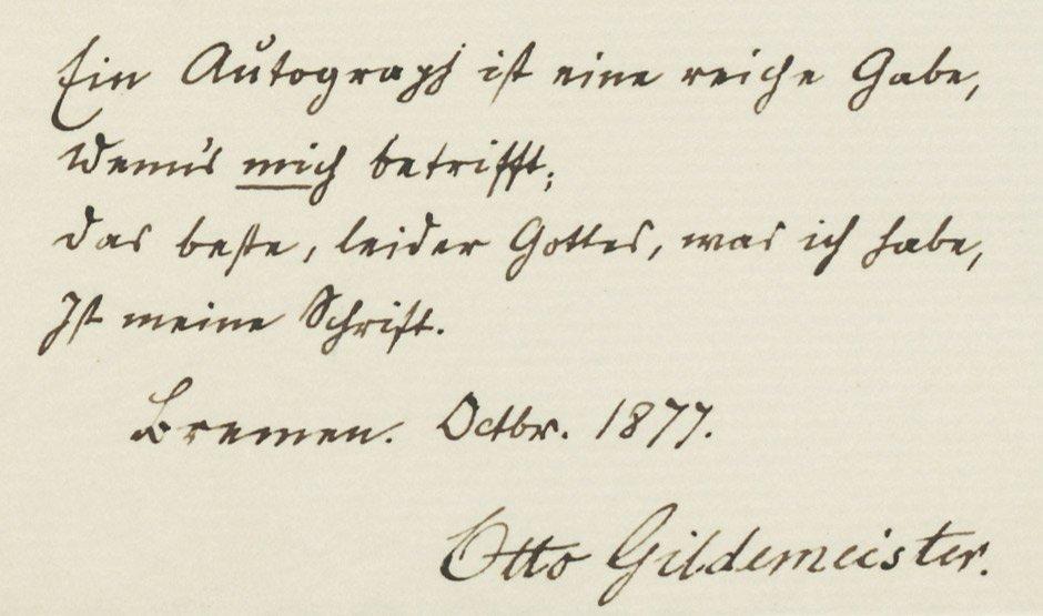 1810: Dräxler-Manfred, Carl Ferdinand: Brief 1845 + Bei