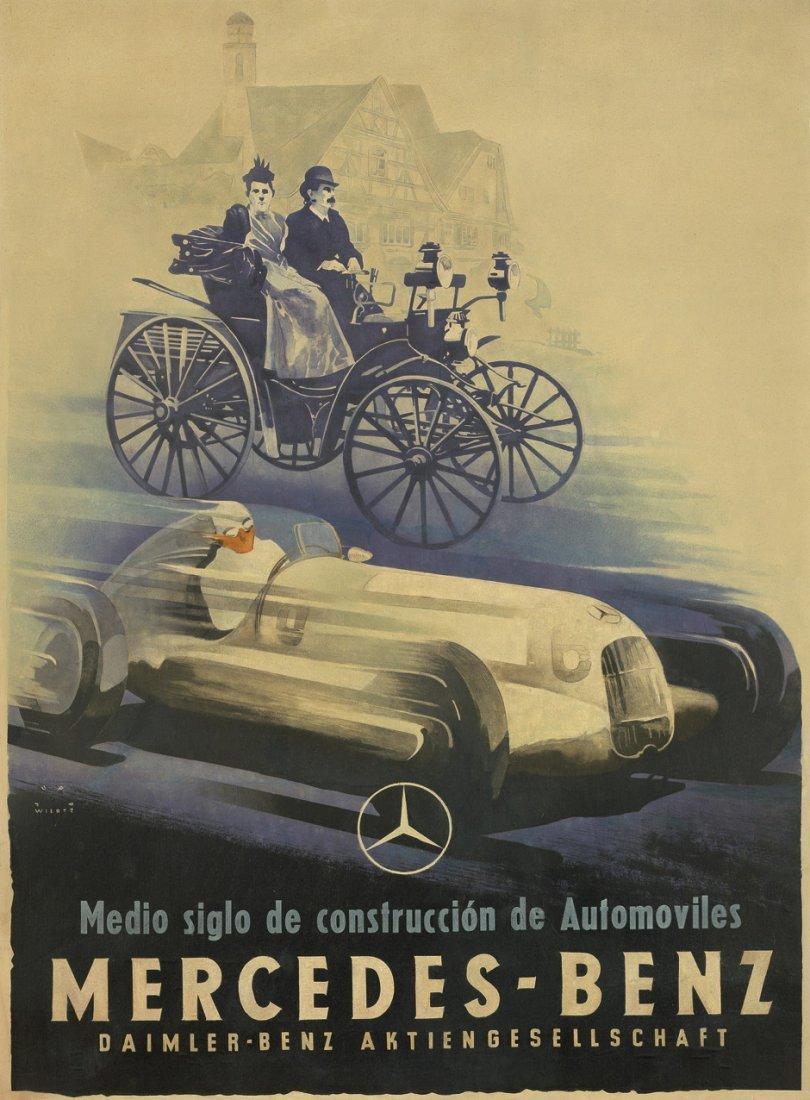 3874: Wiertz, Jupp: Mercedes-Benz