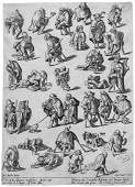 5033: Bosch, Hieronymus: Die Gangarten der Kr�ppel