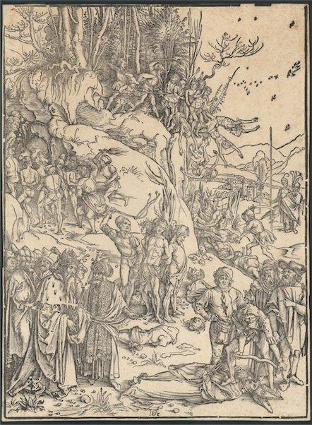 5076: Dürer, Albrecht : Die Marter der Zehntausend von