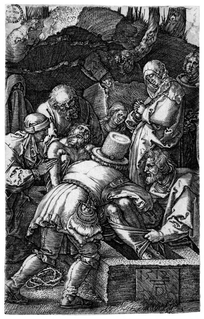 5079: Dürer, Albrecht: Die Grablegung