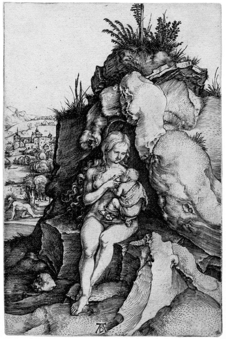 5081: Dürer, Albrecht: Die Buße des Heiligen Chrysostom