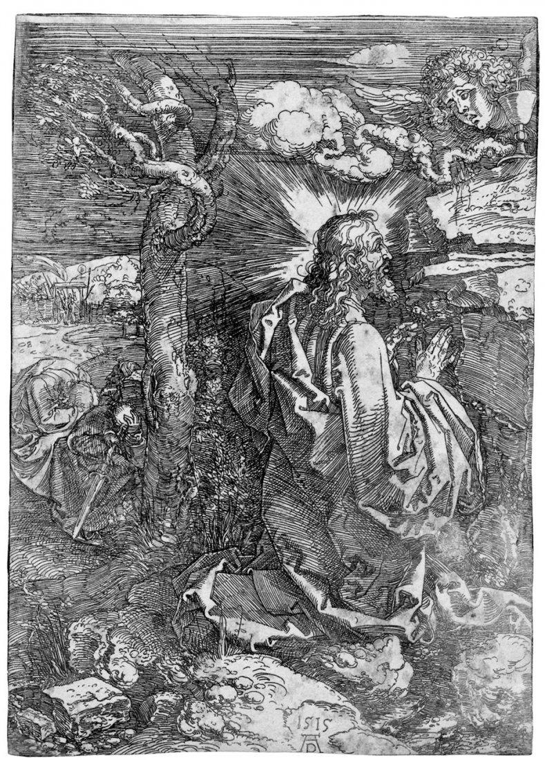 5084: Dürer, Albrecht: Christus am Ölberg