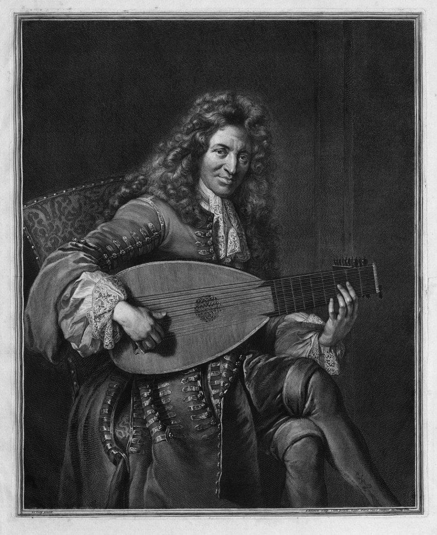 5087: Edelinck, Gerard: Bildnis eines Mannes