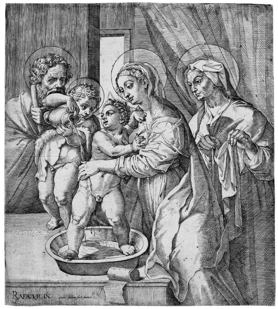 5088: Facchetti, Pietro: Die hl. Maria, den Jesusknaben