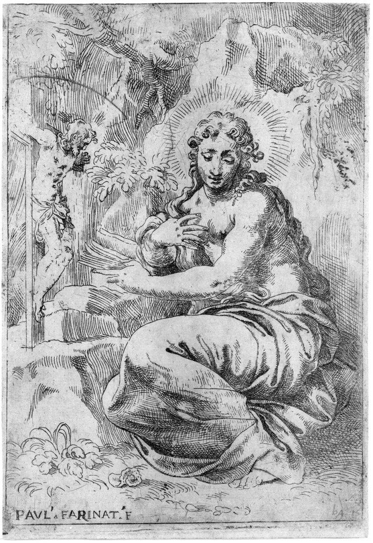 5090: Farinati, Paolo: Die büßende Maria Magdalena