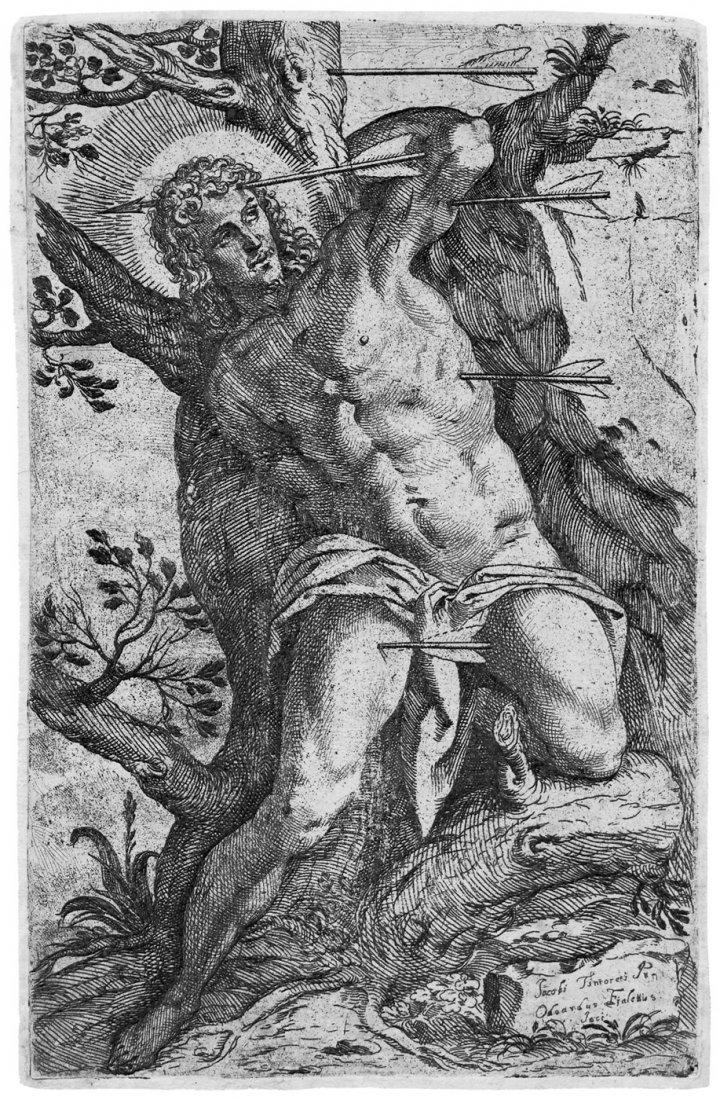 5091: Fialetti, Odoardo: Das Martyrium des hl. Sebastia
