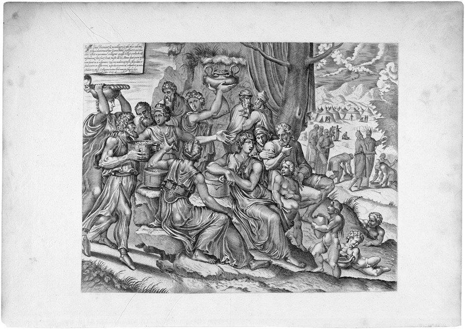 5093: Floris, Frans  - nach: Die Mannalese