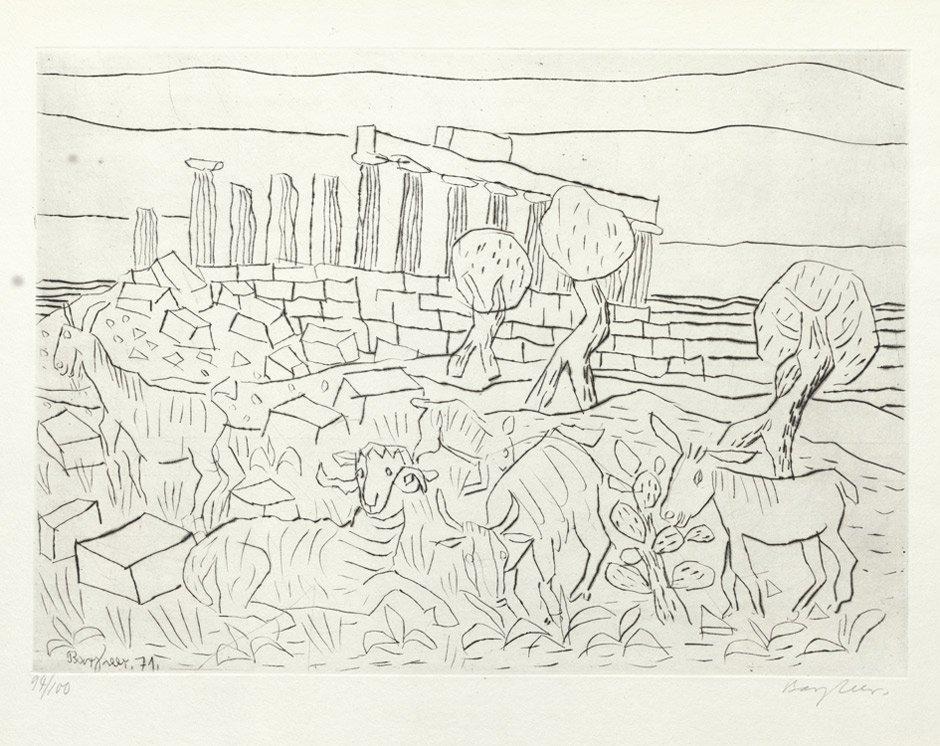 7019: Bargheer, Eduard: Concordia-Tempel, Agrigent