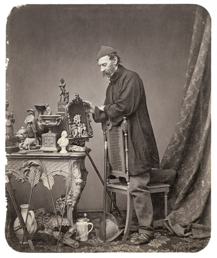 4007: Bauer, Johann: Antique dealer; Man in Greek costu
