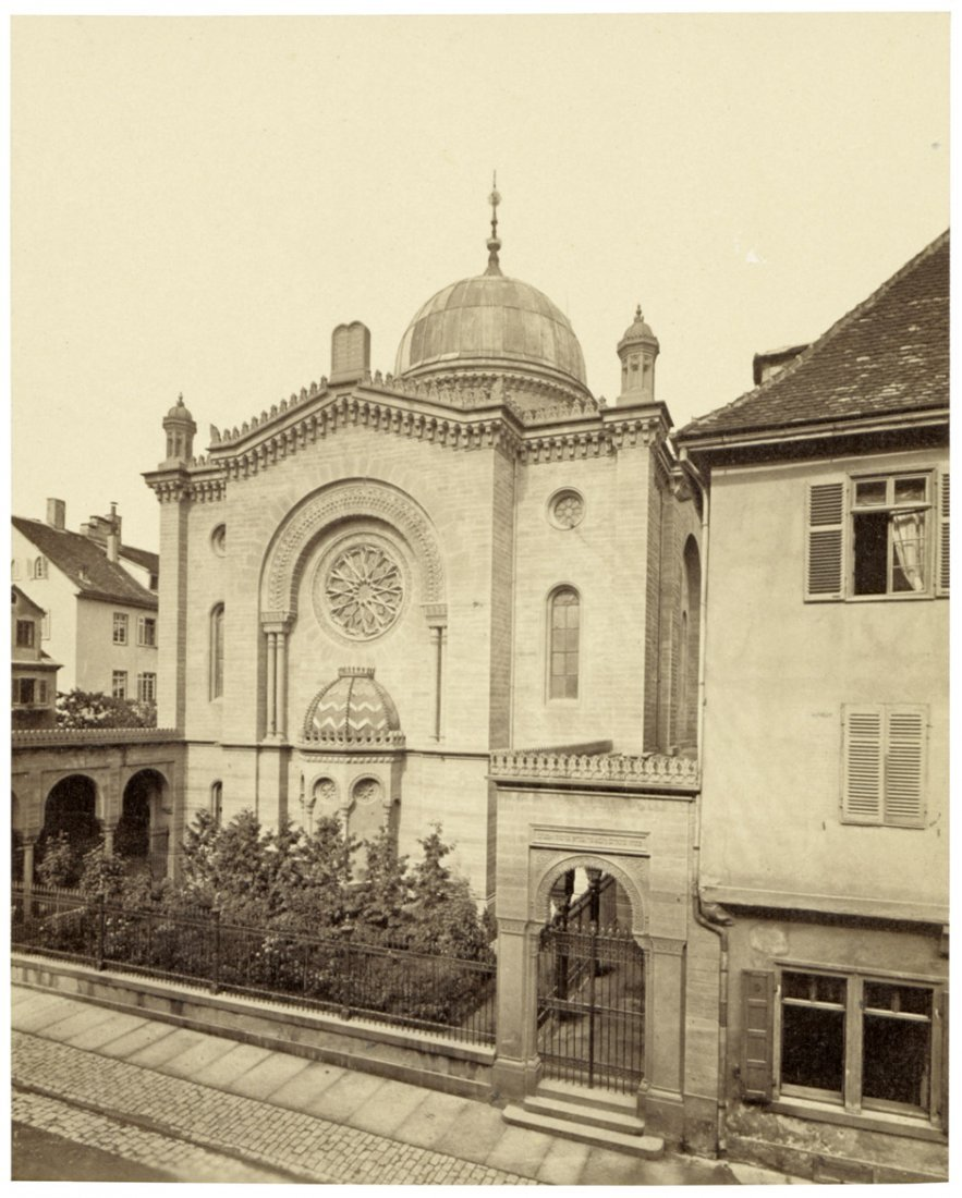 4008: Brandseph, Friedrich (attrib. to): Synagogue, Stu