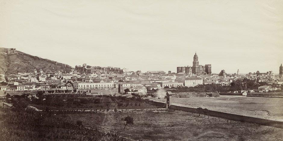 4012: Clifford, Charles: View of Malaga