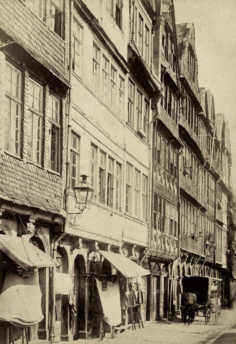 4017: Creifelds, Theodor: Views of the Judengasse, Fran